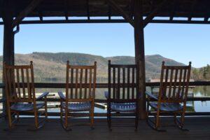 rocking chairs horizontal