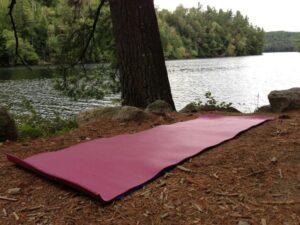pyramid yoga mat