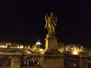 Ponte Santangelo night