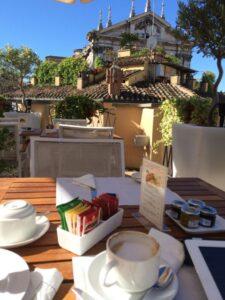 Rome breakfast