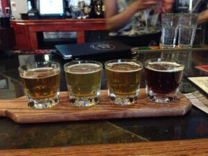 flight of beers