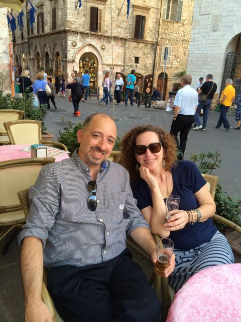 Assisi Dennis and Mary piazza