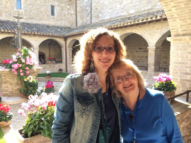 Assisi SD mary and aunt margaret
