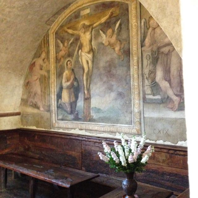 Assisi SD st clare prayed