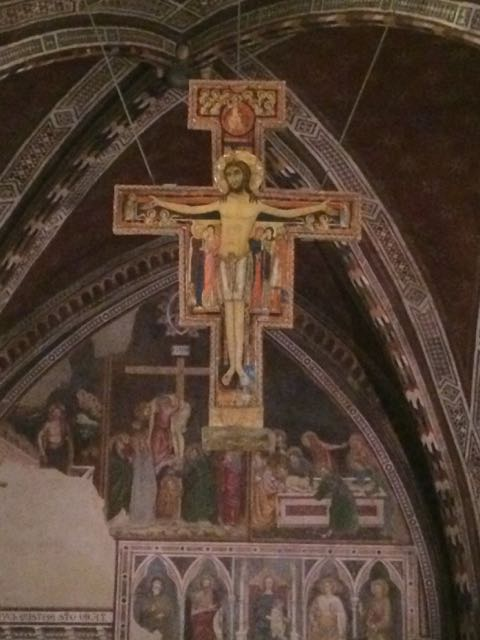 Assisi San Damiano cross