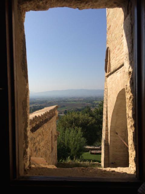 Assisi San Damiano window