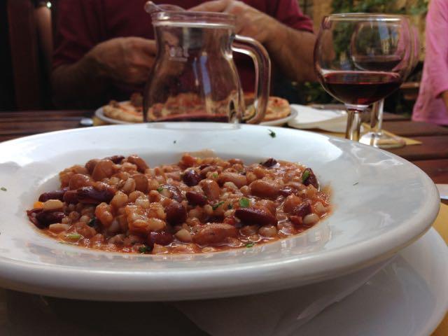 Assisi farro e fagioli
