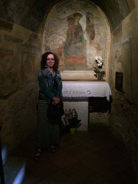 Assisi hermitage chapel