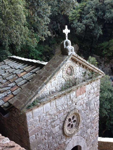 Assisi hermitage outside