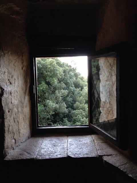 Assisi hermitage window