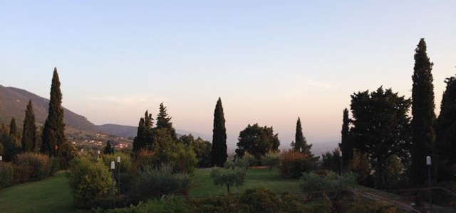 Assisi hotel view
