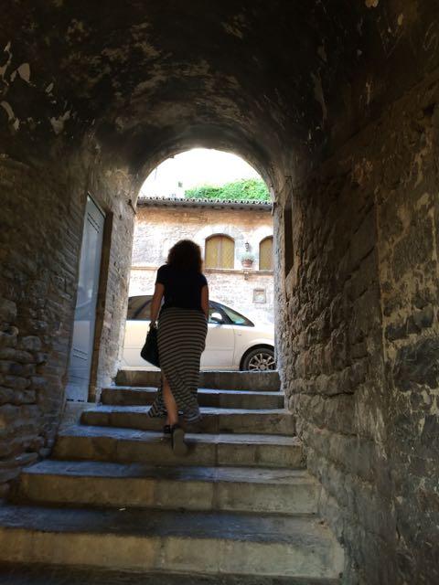 Assisi me leaving