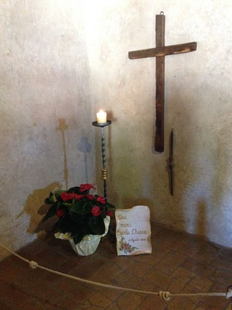 Assisi st. clares death
