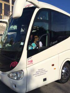 Italy bus shot