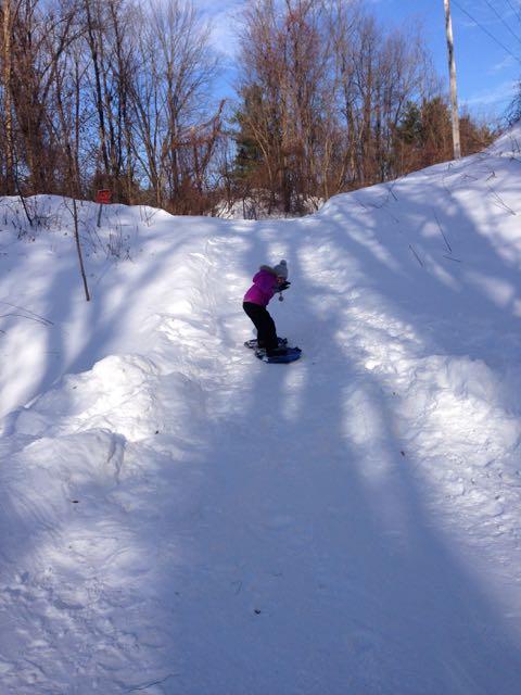 Chiara snow board 2