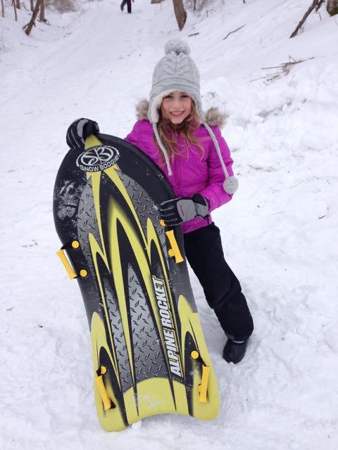 chiara snow board