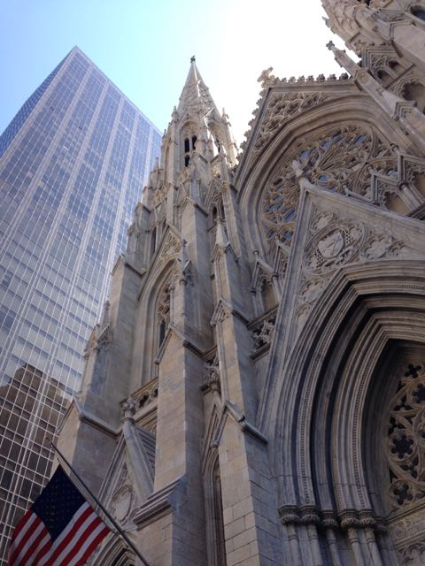 Easter NYC st pat exterior